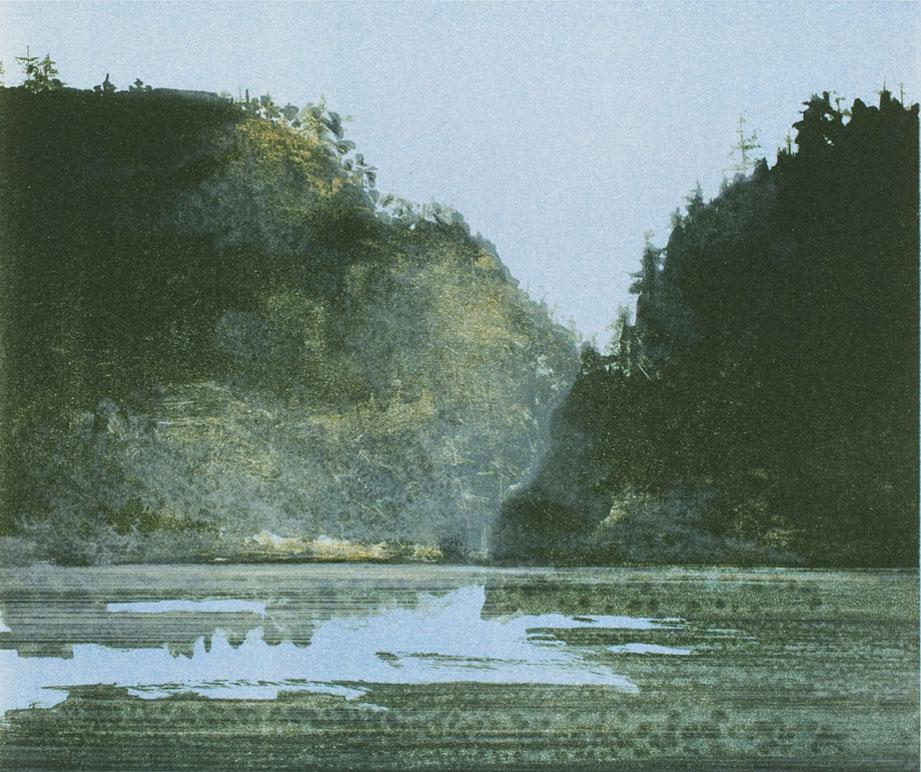 Wood and Lake